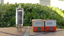 35C5 x2 NOS/NIB GE Power Output Tetrode Tubes-Tested-Free Shipping