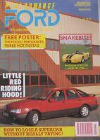 Performance Ford magazine 03/1991 Vol.4, No.11