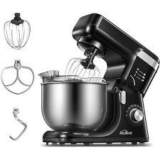 Küchenmaschine Knetmaschine Rührmaschine Rührgerät Mixer Teig Edelstahl 1200W