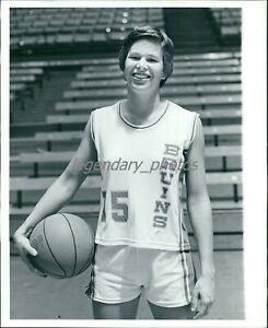 1970s Ann Meyers HOF Basketball Player UCLA Original News Service Photo