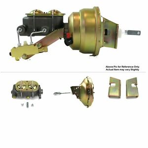 "1963-66 Chevy Pickup Truck FW Mount Power 11"" Single Brake Booster Kit Drum/Drum"