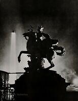 1926/75 Vintage MAN RAY Horse Sculpture Pegasus Statue Paris Photo Art 12x16