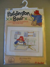 Brand New Complete Cross Stitch Kit Anchor Paddington Bear Baking PBC 03