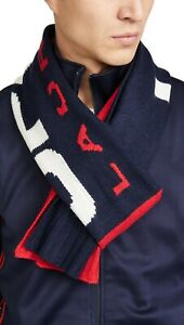 Polo Ralph Lauren Men's RED/BLUE/WHITE  Polo Sport Logo Knit Scarf BRAND NEW