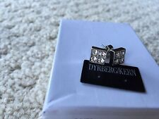 DYRBERG KERN POST EARRINGS Silver And Crystals  $79