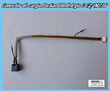 DC Jack Power Port/ Connector de carga Packard Bell Argo C C2/ MZ36 Nuevo
