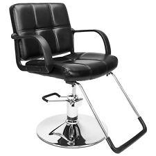 Black Classic Hydraulic Barber Chair Salon Beauty Shampoo Hair Styling Equipment