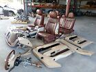 201220132014 Ford F-150 King Ranch Front Seat Rear Set Wconsoledash Oem