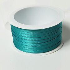 5m Satinband 3mm greeny grün Taufe Hochzeit Basteln 0,22€//m