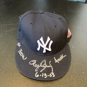 "Roger Clemens ""300 Wins 4000Ks 6-13-00"" Signed Yankees Hat Tristar & MLB Holo"