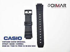 VINTAGE CASIO ORIGINAL STRAP/BAND/CORREA DGW-30/TGW-10/TRW-10/W-60U NOS