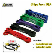 POWER GUIDANCE Pull Up Exercise Bands For Resistance Body Stretching,bicep bands