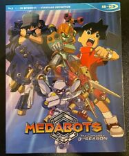Medabots Complete Third Season SDBD Blu Ray Anime Official Discotek