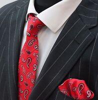 Pink//grey on dark red Silk mens handkerchief NEW Liberty print