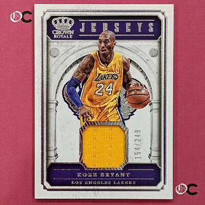 2017-18 Crown Royale Jerseys #9 Kobe Bryant 154/249