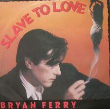 """BRYAN FERRY - SLAVE TO LOVE / VALENTINE -  VINYL 7""""  - 45 RPM"""