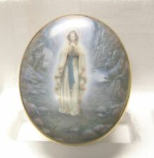 """Our Lady of Lourdes"" by Hector Garrido - 1994 Ardleigh-Elliot Music Box #2288E"