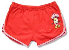 Strawberry Shortcake Sweet Thing Red Cotton Shorts New Official Juniors