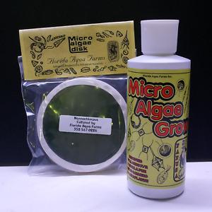 FLORIDA AQUA FARMS combo Nanno disk and Micro Algae Grow modified F2 fertiliser