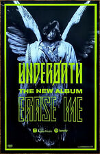 Underoath Erase Me 2018 Ltd Ed New Rare Poster +Free Metal Punk Rock Poster!