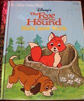 LITTLE GOLDEN BOOK   WALTER DISNEY'S THE FOX AND THE HOUND NO.104-46 hb