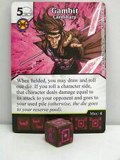 Dice Masters - #107 Gambito CardSharp-Avengers vs X-Men