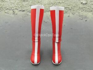 1/6 Scale Toy Comic Wonder Woman - Red & White Boots (Peg Type)