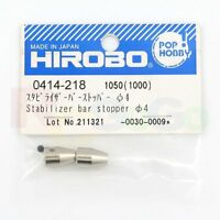 HIROBO 0414-218 FREYA EAGLE STABILZER BAR STOPPER D4MM #0414218 HELICOPTER PART
