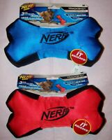 New Nerf Medium Trackshot Retriever Bone Floating Dog Pet Toy Random Color