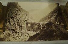 antique old PHOTO LEROUX  Arab Muslim AFRICA Chaabe bridge ALGERIA 1890s