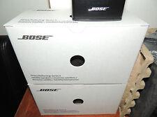 "Bose® Direct/Reflecting® Series II Speakers x2 in BLACK or WHITE ""Genuine Bose"""