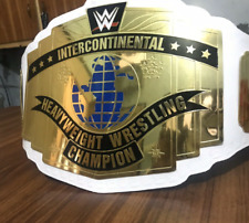WWE Intercontinental Heavyweight Wrestling Championship Belt.Adult Size.WHITE