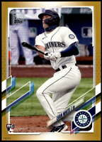 Evan White 2021 Topps 5x7 Gold #151 RC /10 Mariners