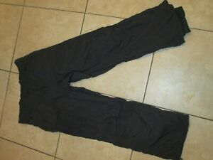 "COLUMBIA-MEN'S-Salopettes Ski PANTS SNOW PANTS TROUSERS SIZE L 34-36"" WINDPROOF"