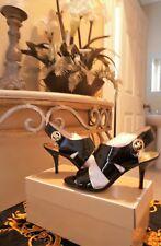 NWB Michael Michael Kors Women US 6 Black Pattent Sandals