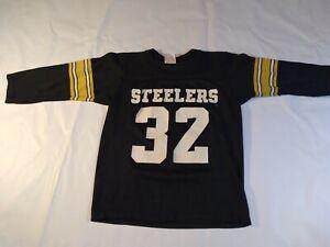 Vintage Steelers #32 Franco Harris Jersey Rawlings Youth Medium  NFL