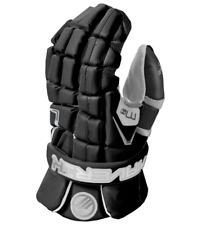 Maverik M4 Senior Lacrosse Goalie Gloves - Black (NEW)