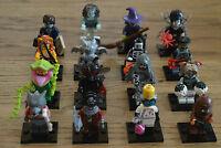 Lego® 71010 Minifiguren Minifigures Monsters Serie 14 alle 16 Figuren komplett