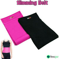 Sauna Slimming Belt Body Shaper Wrap Tummy Weight Loss Fat cellulite Burner UK