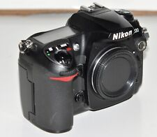 Nikon D200 10.2 MP Digital SLR Camera - Black (Body Only) Condition Noted Below