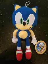 Sonic the Hedgehog Plush Doll Stuffed Animal Toy Large 12 in Authentic Sega Nwt