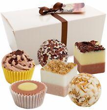 BRUBAKER Boules de bain 'Chocolate Love' 6 Pièces Coffret cadeau Chocolat