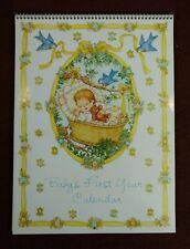 """Baby's First Year Calendar by Current Excellent Condition 12"""" x 9"""""""