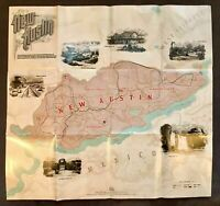 Red Dead Redemption 2 Map Poster of New Hanover and New Austin PS4 Xbox One. VGC