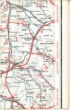 52 21 châteauvillain bricon 1925 card/lin (part) orig. montigny-dawn leuglay