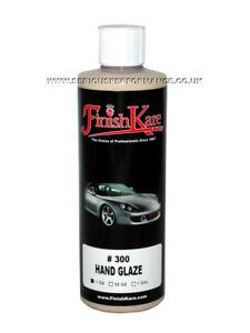 FINISH KARE #300 HAND GLAZE CAR DETAILING GLAZE - 15oz / 444ml BOTTLE