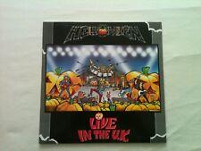 Helloween - Live In The UK - Germany LP 1989 - 1 Press 1C 064 7 923711 / TOP !!!