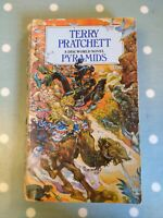Pyramids: Discworld Novel 7 by Terry Pratchett Paperback 1990 1st edition