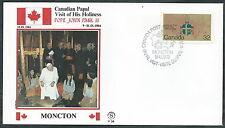 1984 VATICANO VIAGGI DEL PAPA CANADA MONCTON - SV