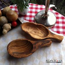 Olivenholz Holz Schaufel oder Schale Schälchen mit Griff